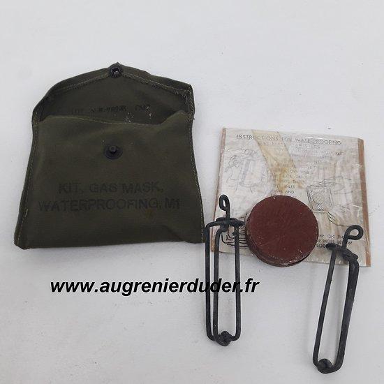 Kit gas mask waterproofing M1 US wwII