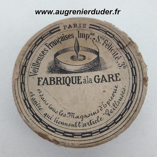 Veilleuses bougies poilu France wwI