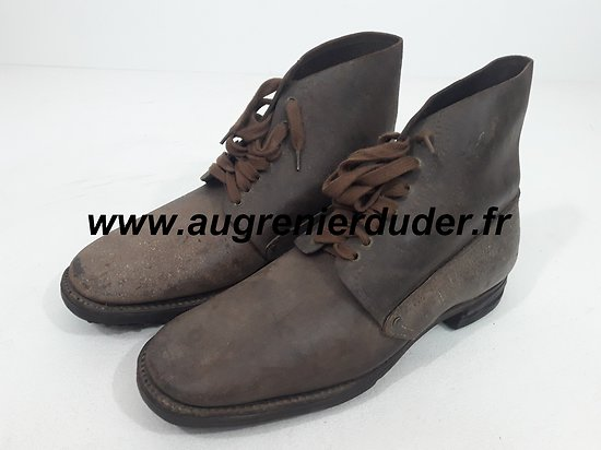 brodequins modèle 1917 France / French boots model 17