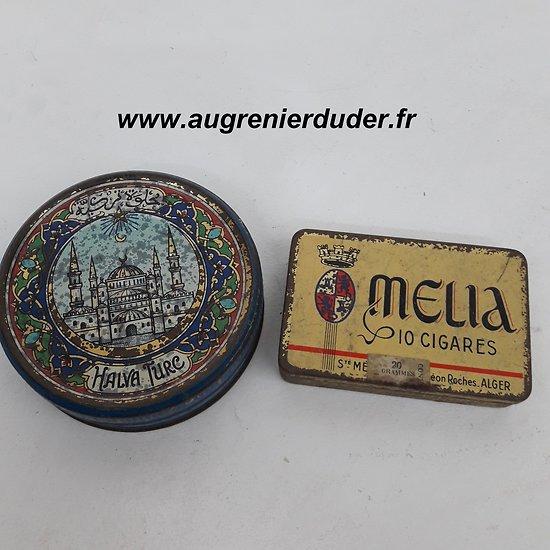 lot de boites à tabac Afrique du Nord Algérie 1950