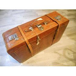 valise vintage 1950