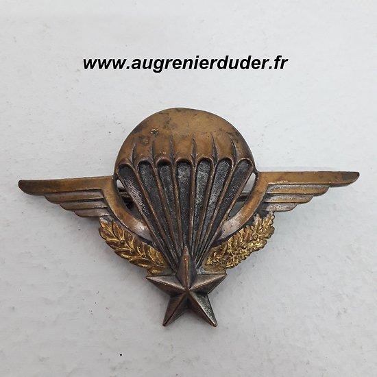 Brevet parachutiste France post wwII
