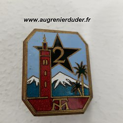 Insigne 2ème RTM France 1940