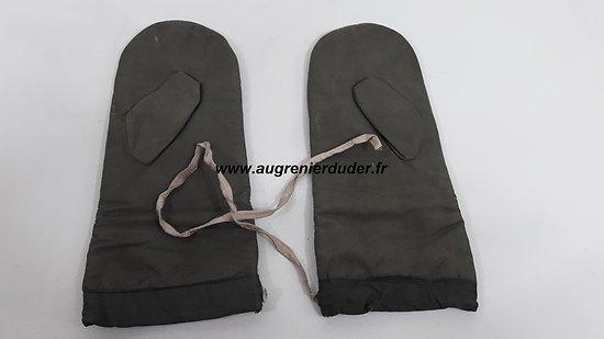 Paire de gants hiver Allemagne wwII
