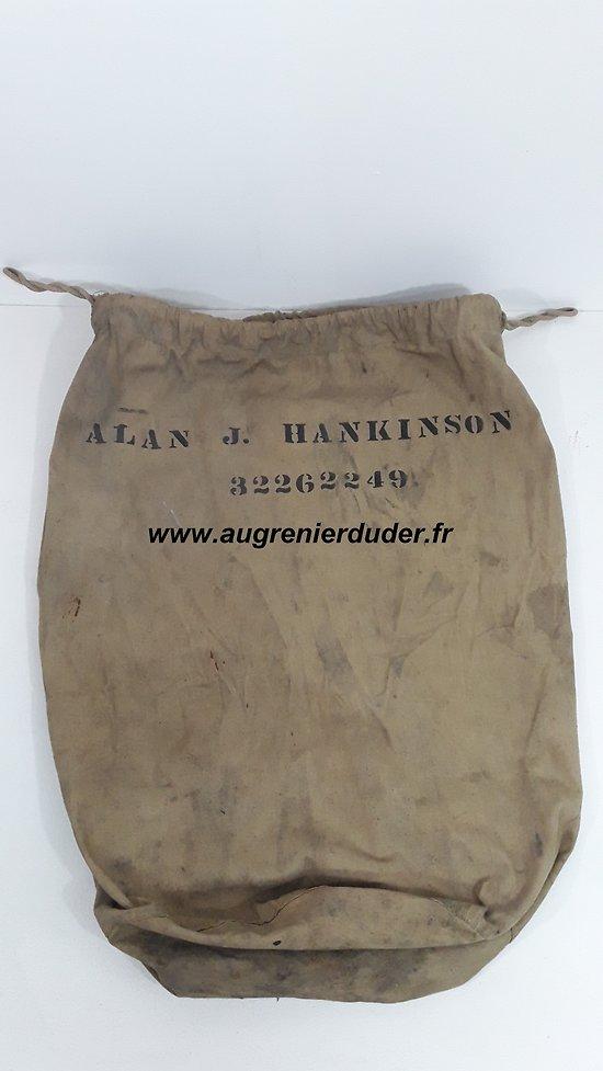 Barrack bag nominatif US wwII