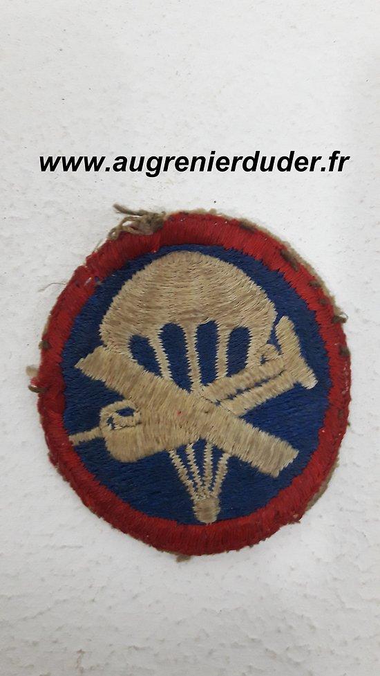 Insigne général aéroporté / airborne US wwII