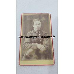 Photo cdv 131 ème infanterie de ligne France 1880