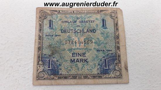 Billet d'invasion Allemagne 1944