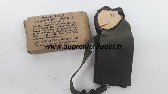 Masque tireur bazooka US wwII