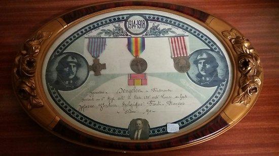 Cadre d'un artilleur 1914/1918