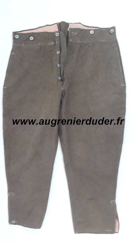 Culotte troupes coloniale 1921/35 France wwII