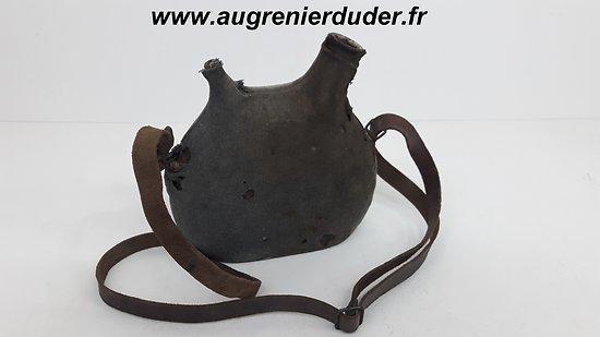 Gourde / bidon modèle 1877  France wwI