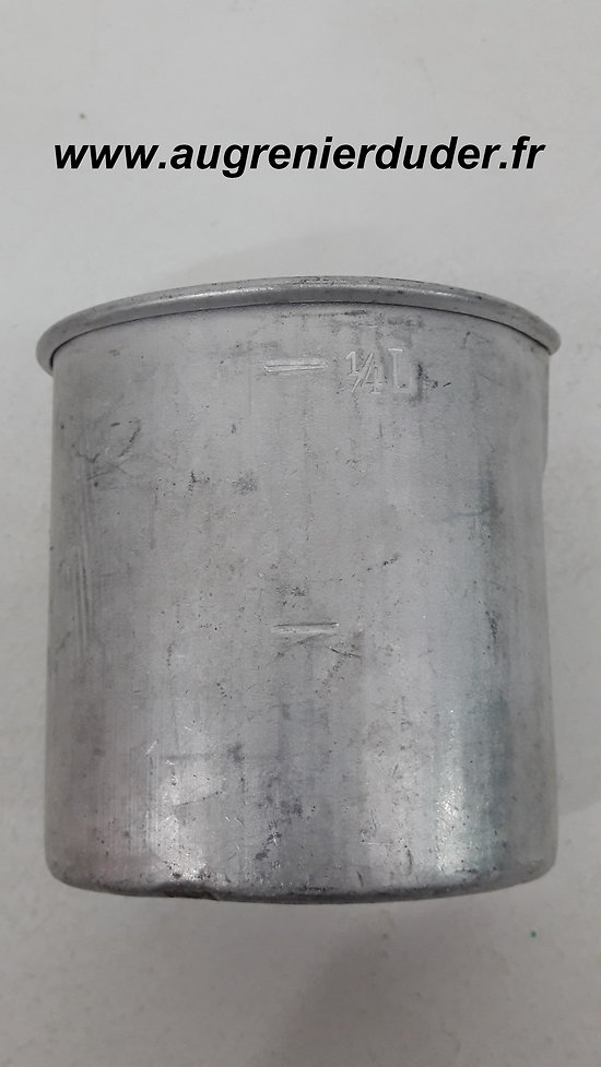 Quart aluminium Allemagne wwII