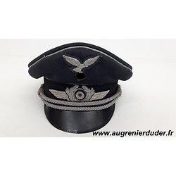 Casquette officier Luftwaffe Allemagne wwII