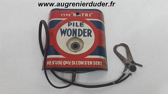 Testeur batterie Wonder France 1940