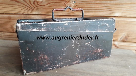 Caisse camouflée mg34 Allemagne / German ammunition box mg34