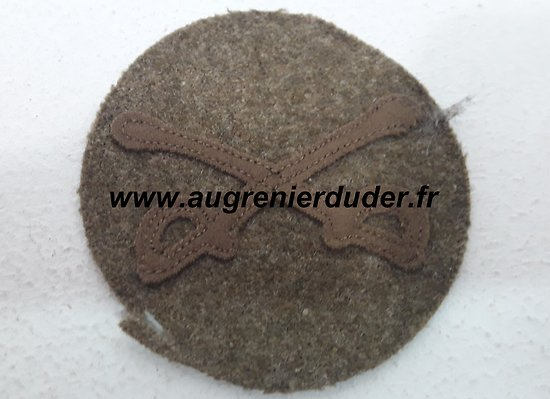 Patch cavalry corps US wwI