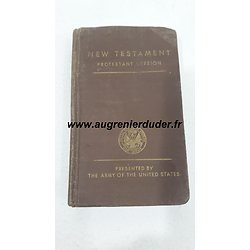 Bible US wwII / New Testament 1942
