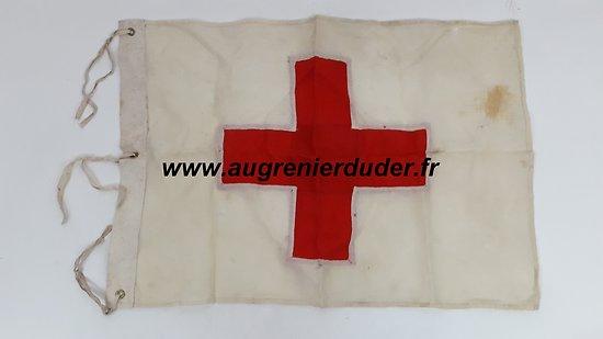 Drapeau / fanion médical Allemand wwII