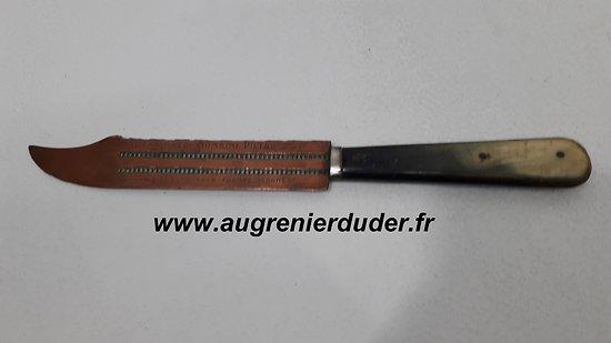 couteau / coupe papier artisanat de tranchée Italie 1918