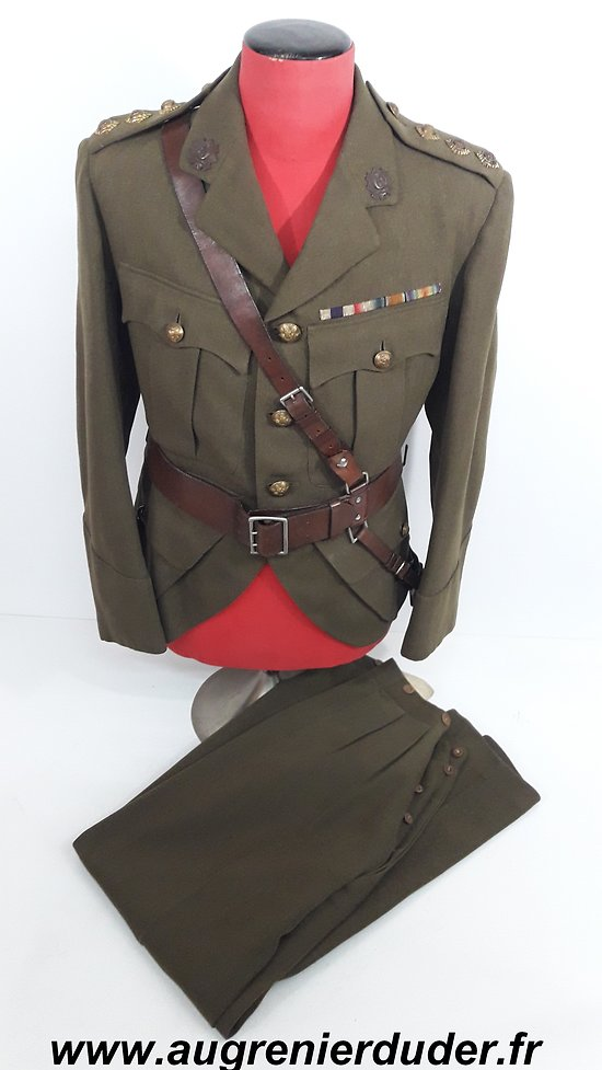 Uniforme du Major Kinsey Ecossais 1940