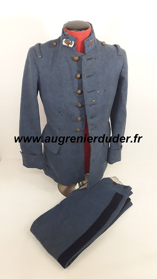 Uniforme Saint Cyr bleu horizon France wwI / wwII
