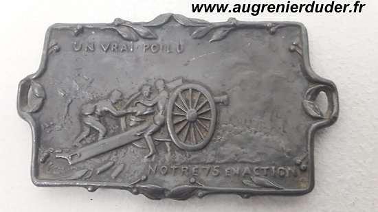 Vide poche canon 75 mm France wwI
