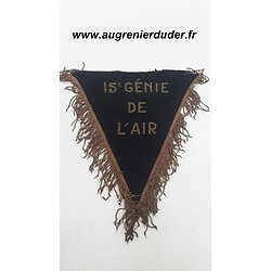 Flamme de trompette 15 ème régiment du génie de l'air France 1950