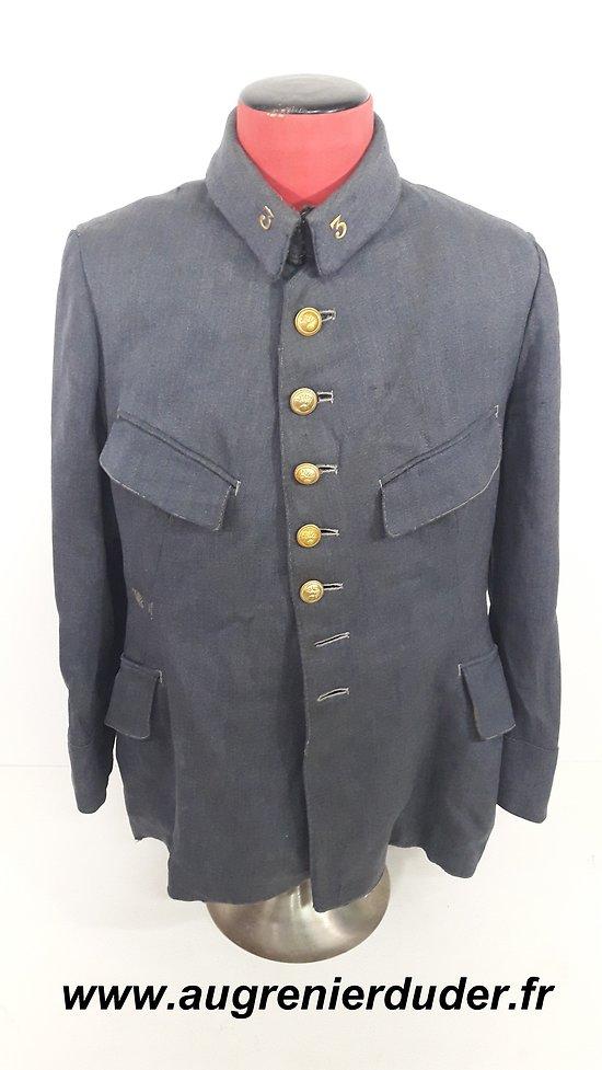 Vareuse sous officier bleu horizon 1920 France