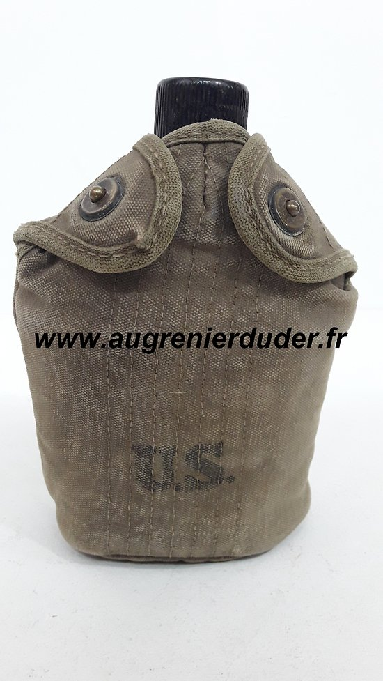 Gourde US wwII / US canteen wwII