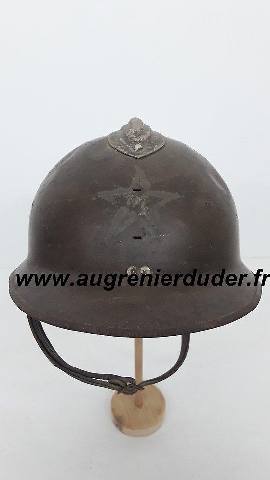 Casque Adrian Tirailleur Marocain 1944 France wwII