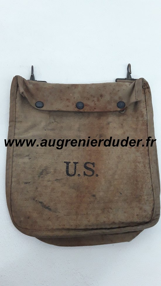 Musette à grenade US wwI /Grenadier's Padded Grenade Pouch wwI