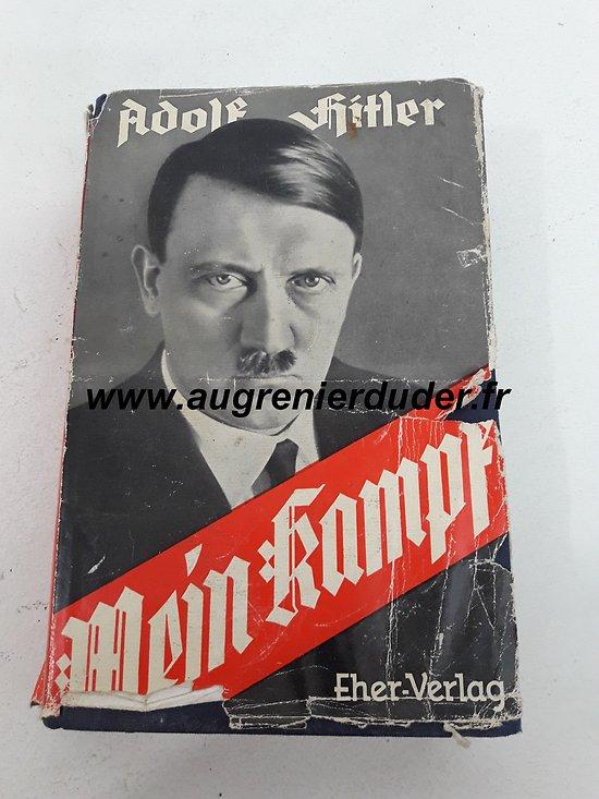 "Livre ""mein kampf "" 1940 Allemagne wwII"
