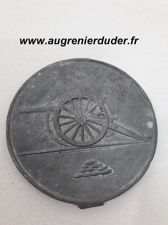 Miroir canon de 75mm France wwI