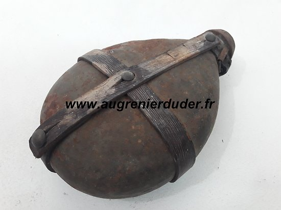 Bidon individuel Allemand fabrication 1915/1916 wwI