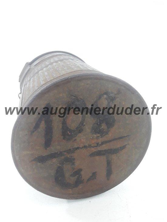 Boitier marsque anti gaz ARS 17  France wwI