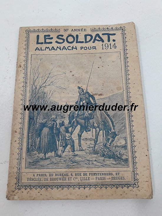almanach 1914 France wwI