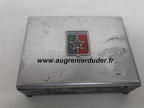 boite à cigarettes 49 ème Régiment infanterie France 1940/1950