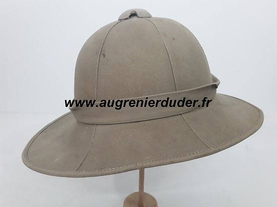 Casque tropical Anglais wwII
