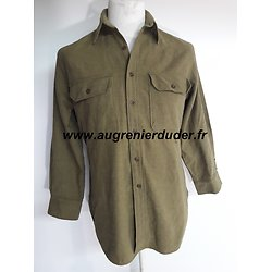 Chemise moutarde m-37 USA wwII