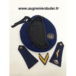 Ensemble béret 1er RCP indochine /Algérie France