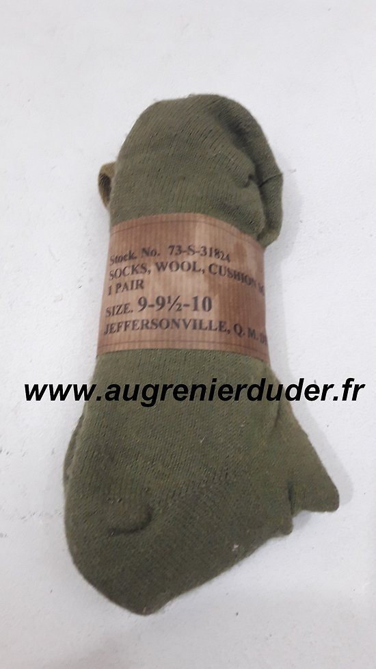 Chaussettes neuves US wwII