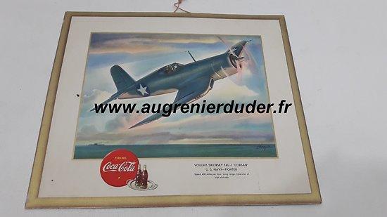 carton publicitaire Coca Cola 1943 US wwII