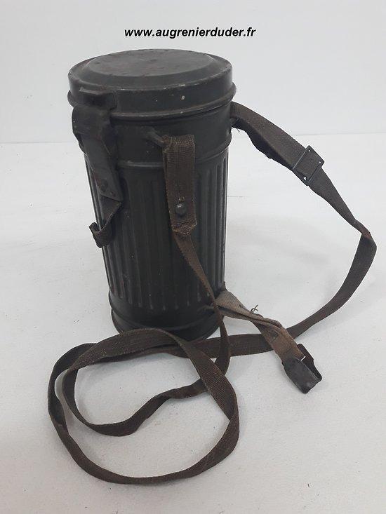 masque à gaz boitier court modèle 1938 Allemagne wwII