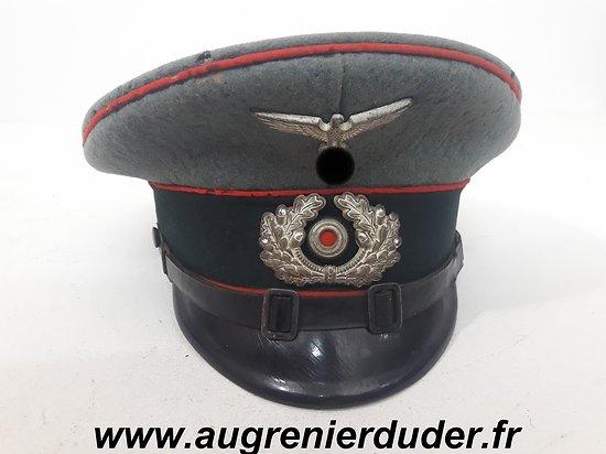 Casquette sous officier artillerie Allemagne wwII