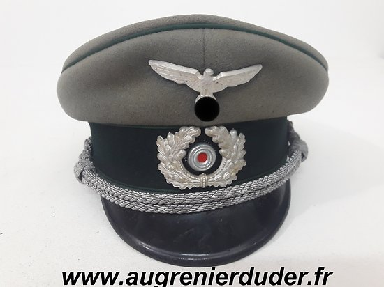 Casquette officier administration Allemagne wwII