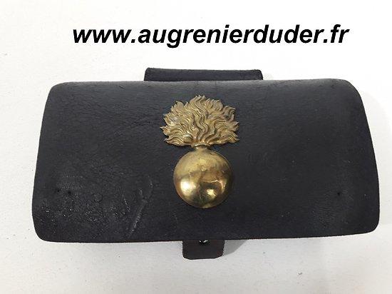 Cartouchière gendarmerie grand modèle France 1870/1914