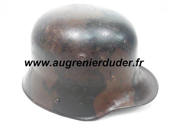Casque modèle 1916 camouflé Allemagne wwI