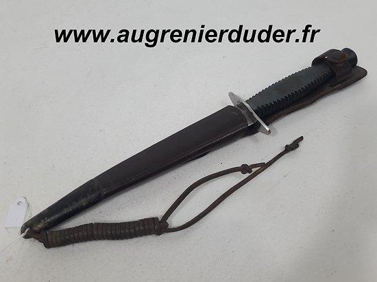 """Dague parachutiste """" le commando """" France 1950/1960"""