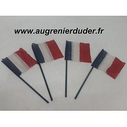 Lot drapeaux français Libération 1944 wwII